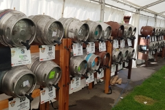 cask ale setup beer festival in Oxted