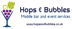 Hops & Bubbles bar hire Logo