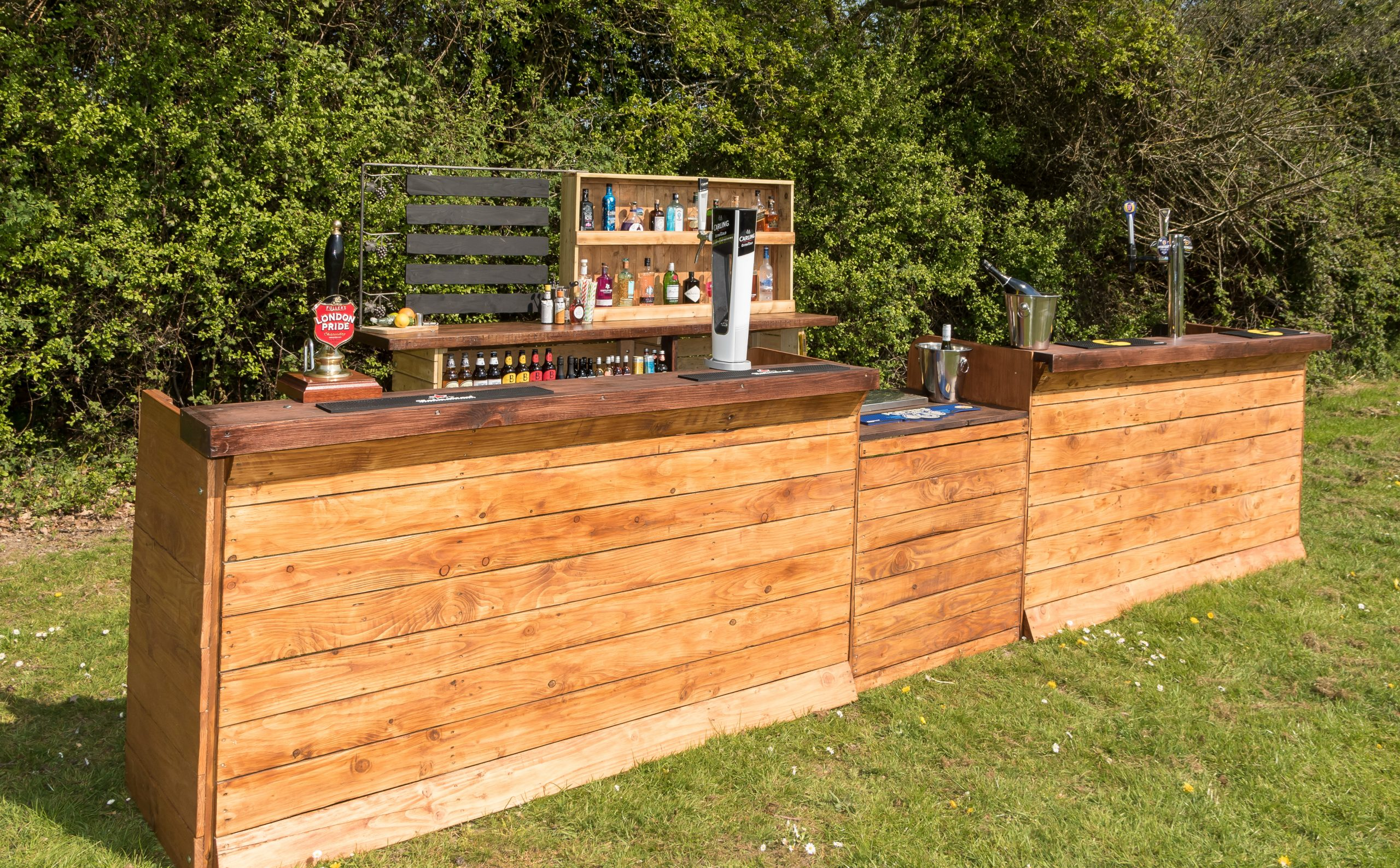 Mobile bars to hire for festivals