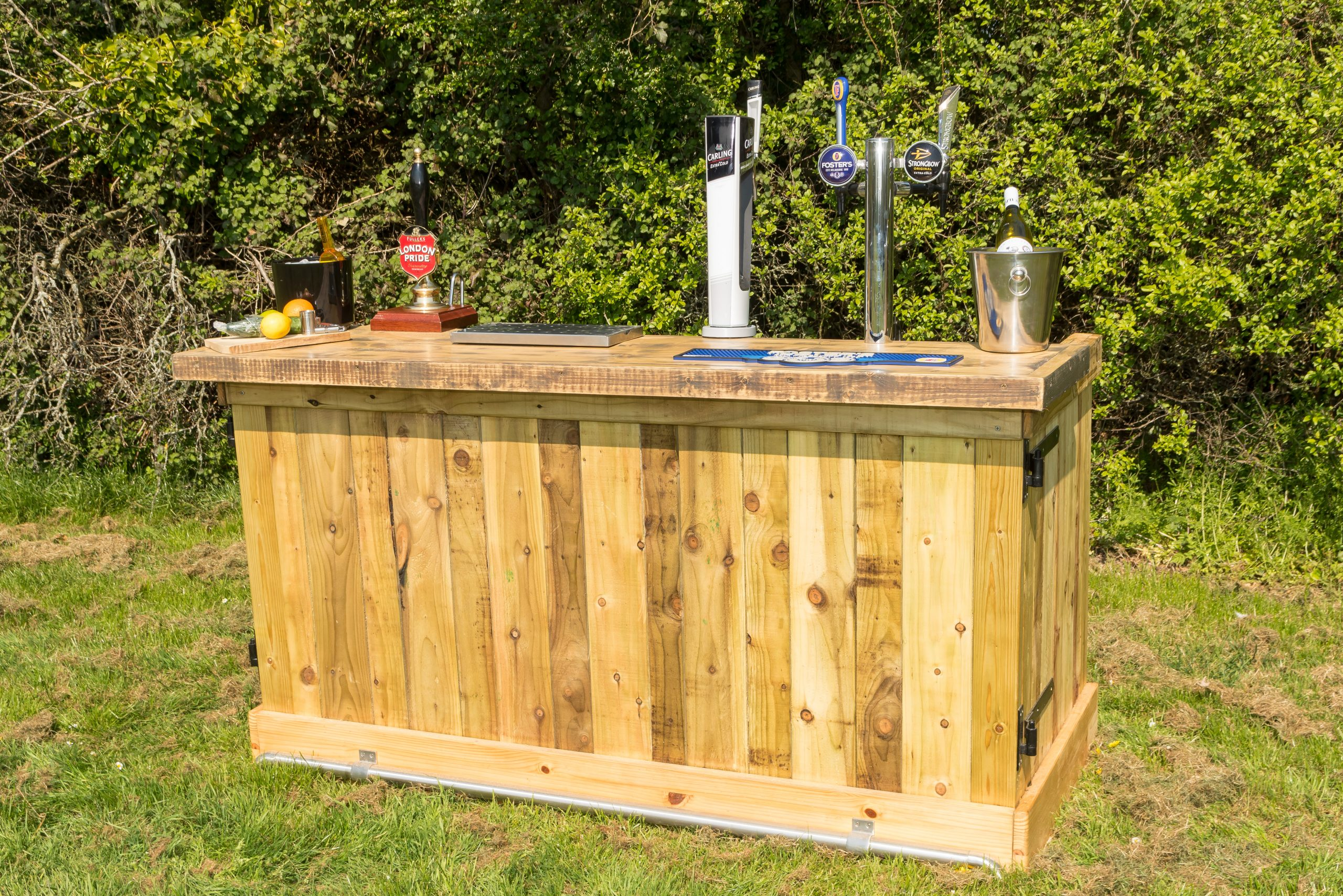 Mobile bars for hire in Oxted