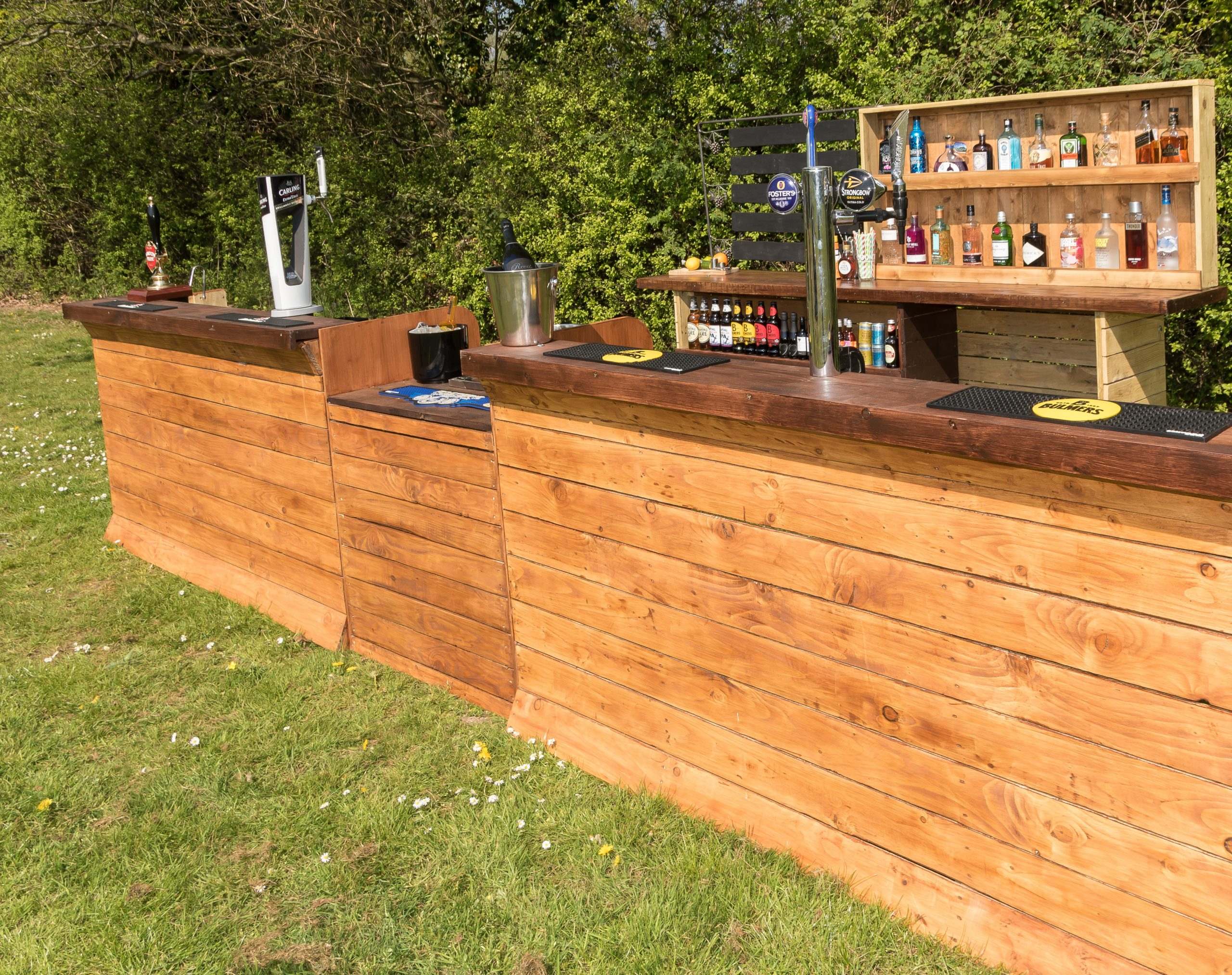 Festival bar hire in Surrey