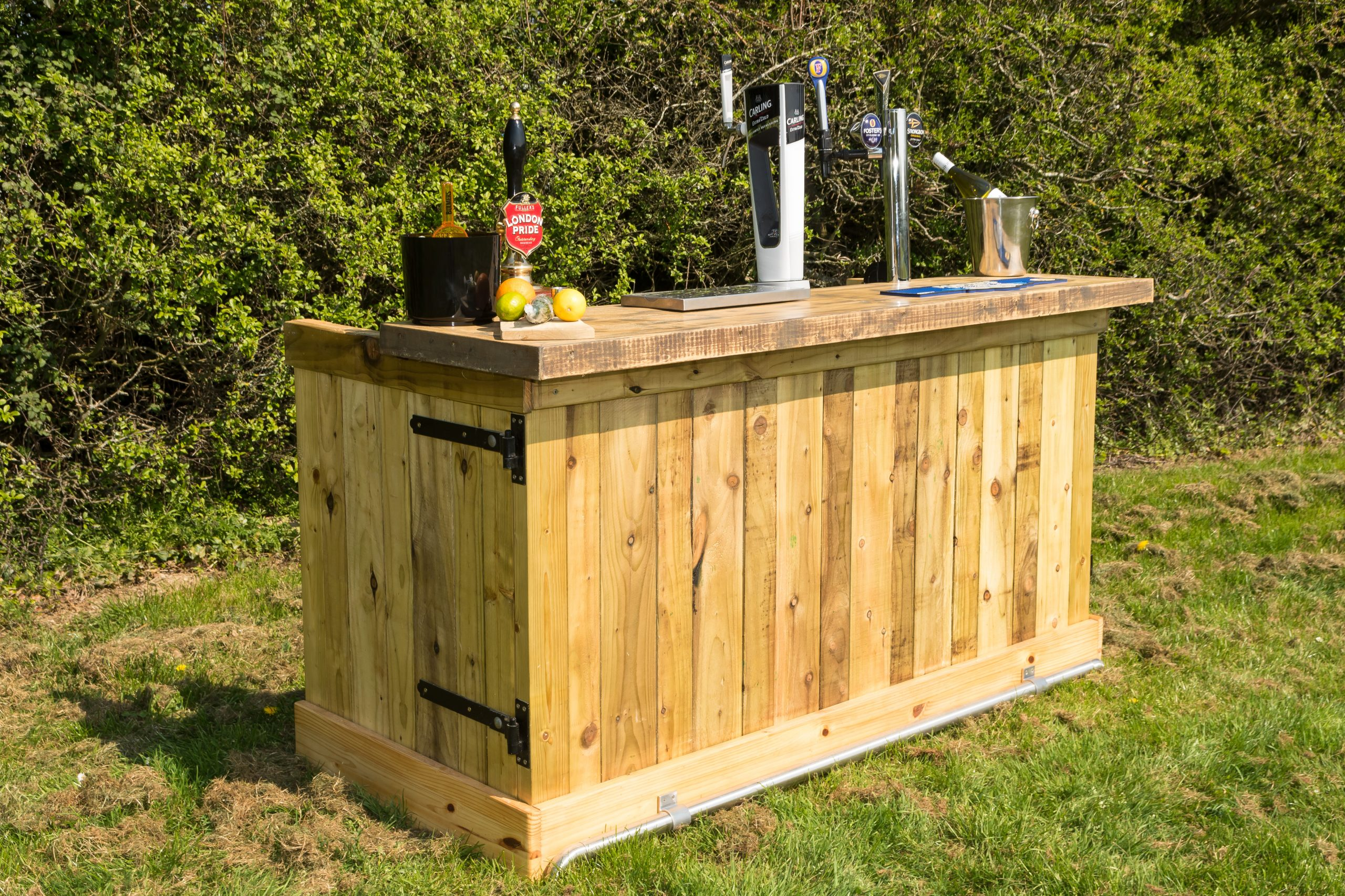 temporary bar hire in Sussex