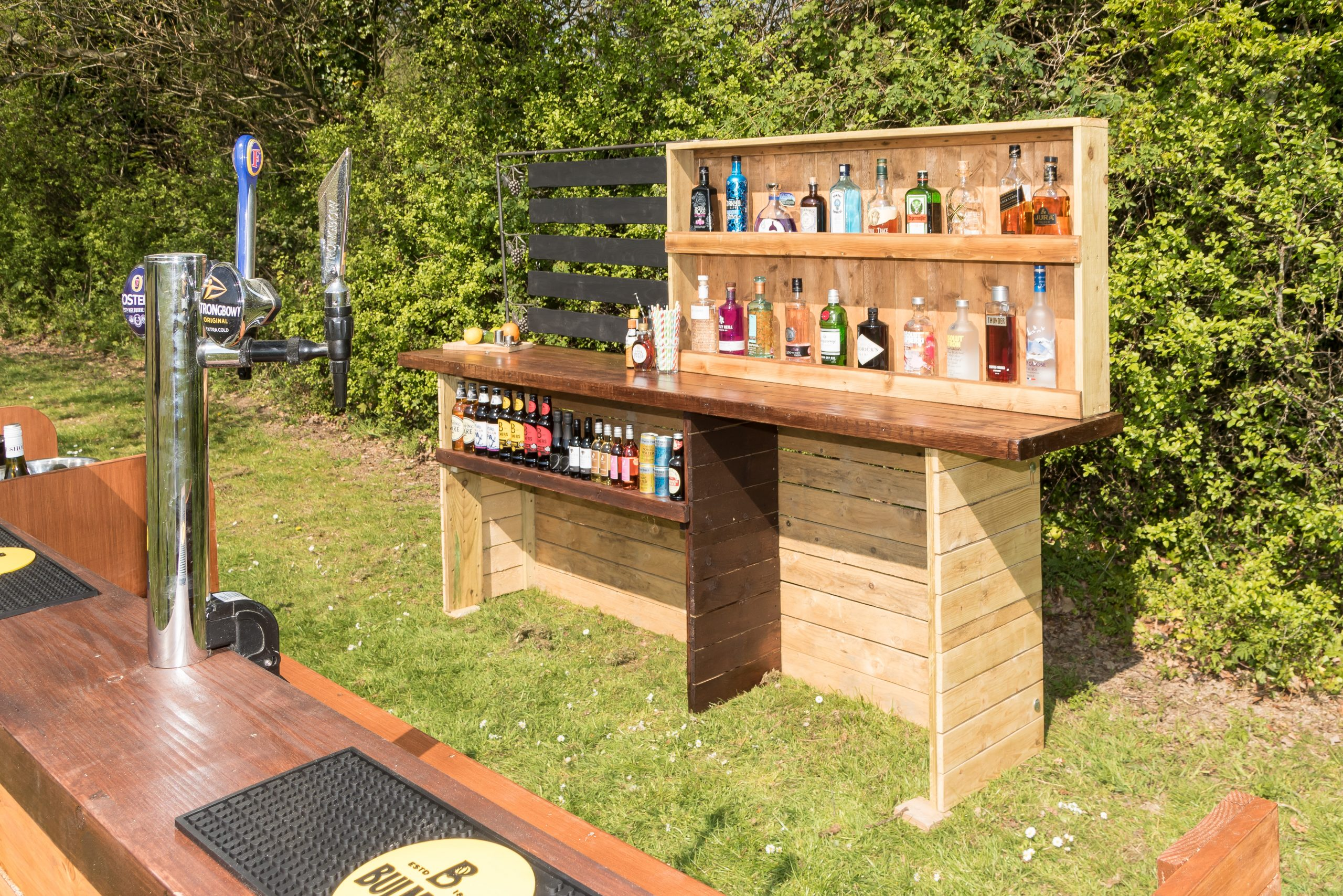 Back bar unit for hire