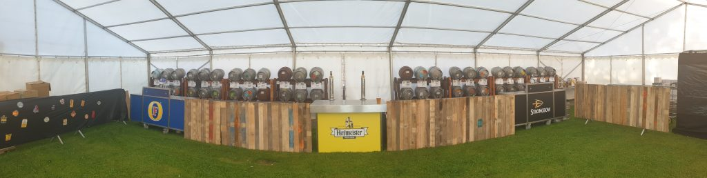 beer festival bar hire