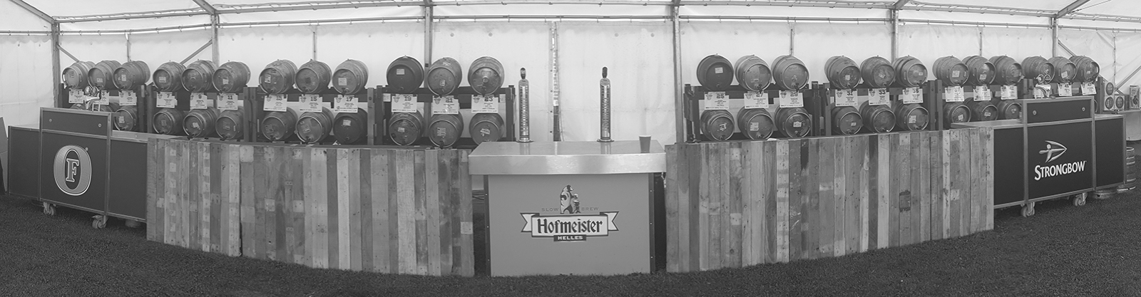 Hops & Bubbles bar setup at HS Fest 2019